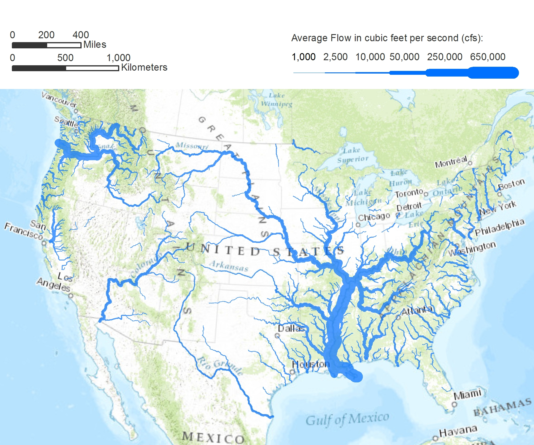 Mississippi River Mrs Elder United States Map Pawtastic Blog - Map of the rivers in the us