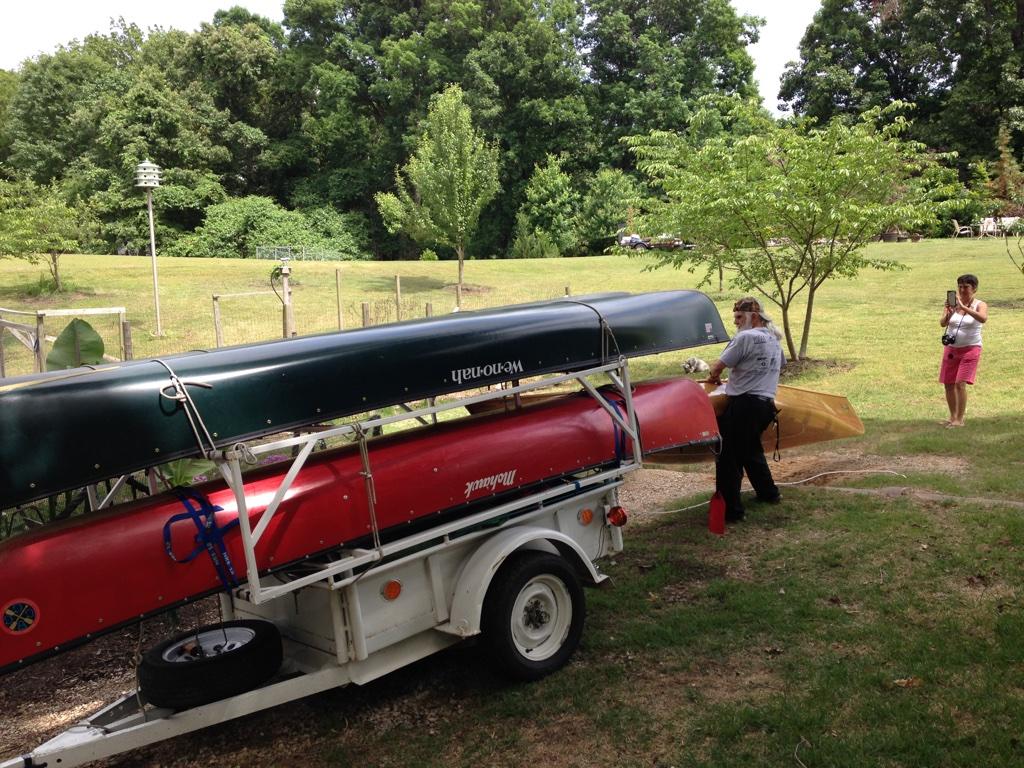 Mississippi River Trip Begins